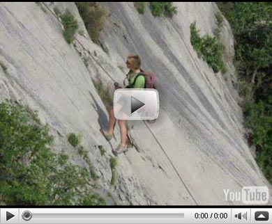 Look at... the video about Duino climbing !