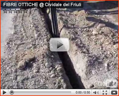 Look at...  the video about Fibre Ottiche a Cividale del Friuli
