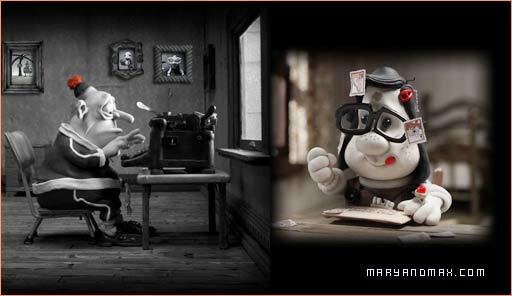 Look at... the TRAILER about Mary and Max film