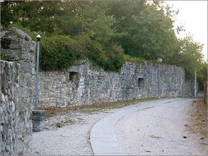 Le mura aniche di Cividale - urban climbing