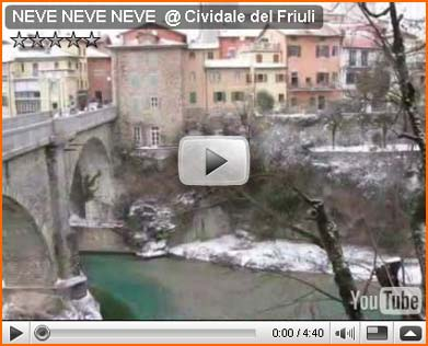 Look at... the NEVE NEVE NEVE @ Cividale del Friuli