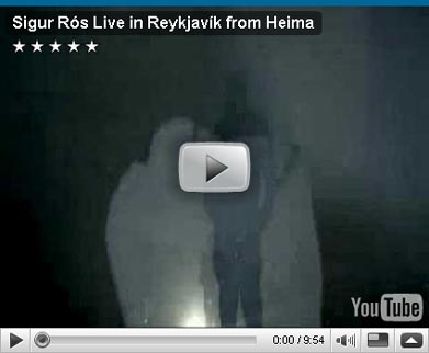 Look at... the Reykjavík  Sigur Rós concert !
