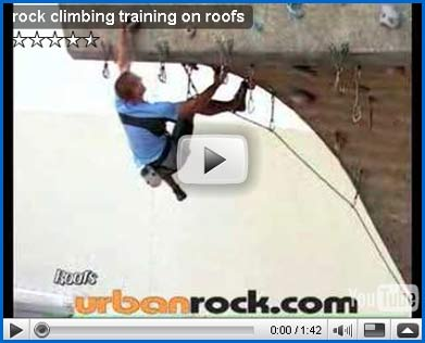 Look at... the video about training on a roof